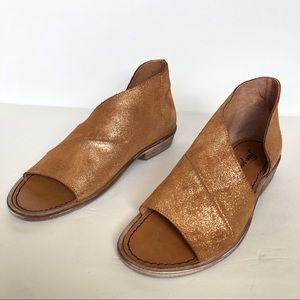 Free People Metallic Mont Blanc Sandals Size 37/7